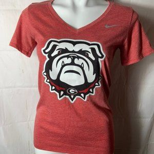 Nike GA Bulldog Women's Small Tshirt